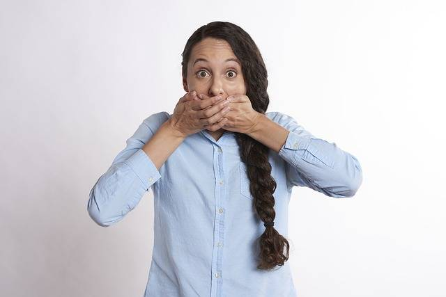 Secret Hands Over Mouth Covered - Free photo on Pixabay (582621)