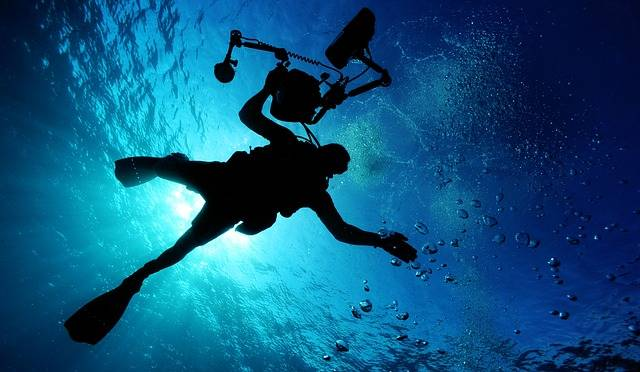 Sea Scuba Diving Ocean - Free photo on Pixabay (582788)