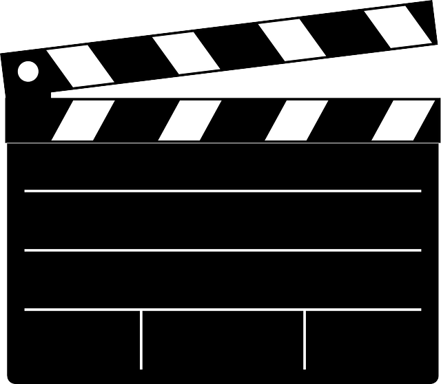 Clapperboard Black Cut - Free vector graphic on Pixabay (584751)