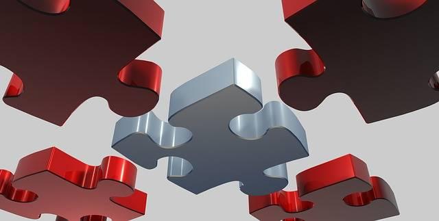 Puzzle Share 3D - Free image on Pixabay (589387)
