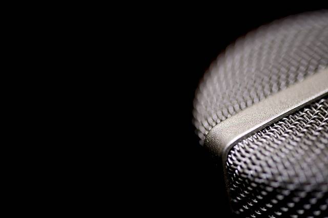 Microphone Vocal Voice - Free photo on Pixabay (597116)