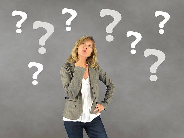 Woman Question Mark Person - Free photo on Pixabay (598513)