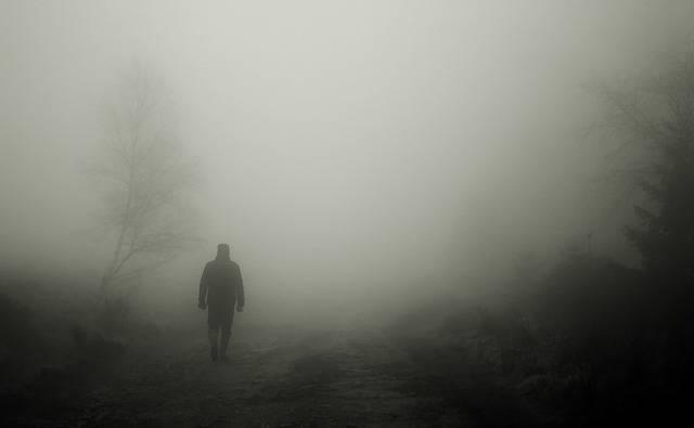 Walkers Autumn Fog - Free photo on Pixabay (599652)