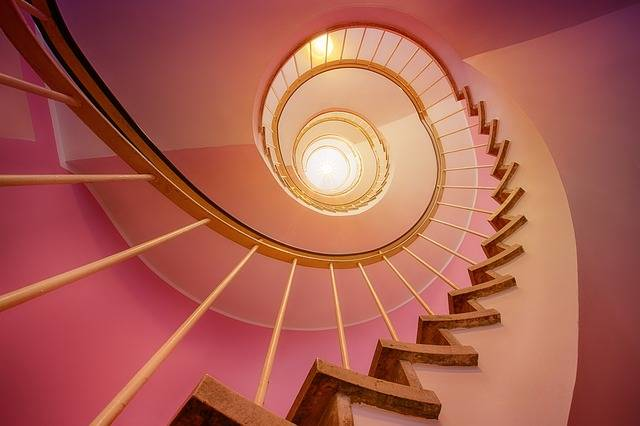 Stairs Spiral Stair Step - Free photo on Pixabay (601339)