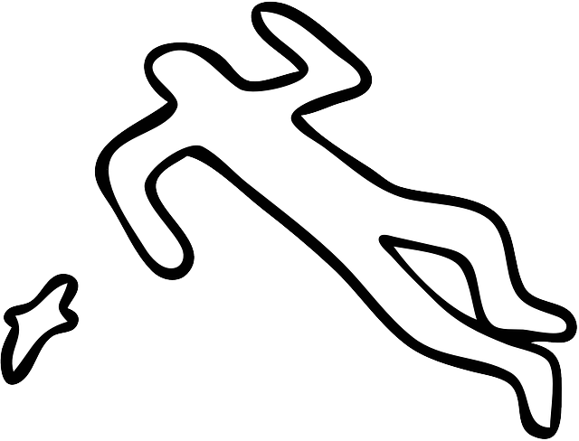 Crime Scene Silhouette Body - Free vector graphic on Pixabay (602939)