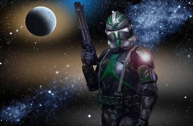 Space Warrior Galaxy Types Of - Free image on Pixabay (606459)