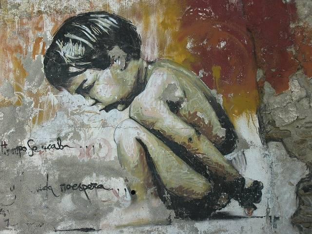 Graffiti Little Boy Granada - Free photo on Pixabay (606533)