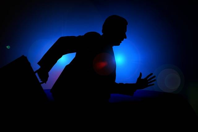 Man Silhouette Businessman - Free image on Pixabay (612646)