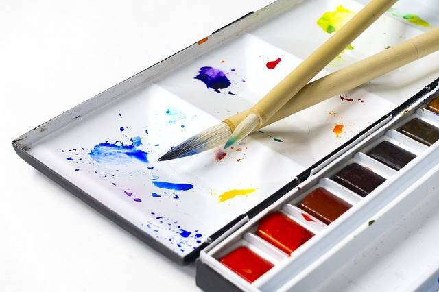 Watercolors Paint Painting Tools - Free photo on Pixabay (614015)