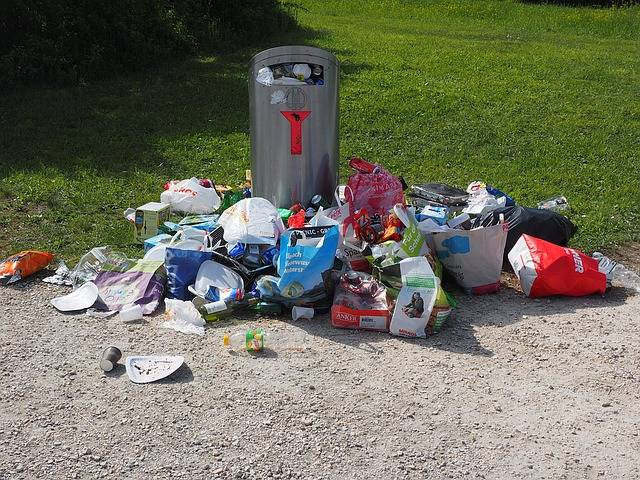 Garbage Can Pollution - Free photo on Pixabay (616847)