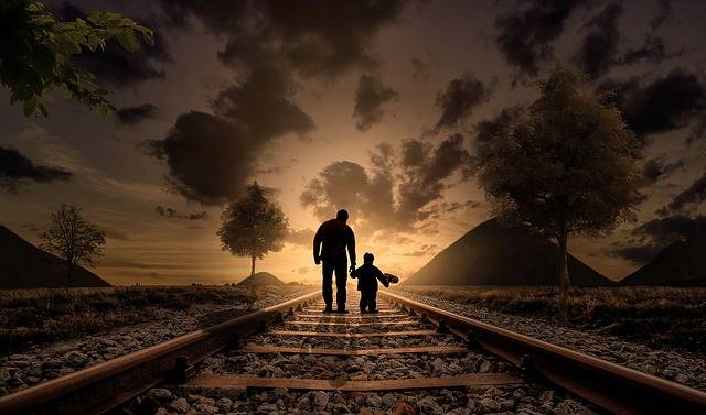 Father And Son Walking Love - Free photo on Pixabay (620602)