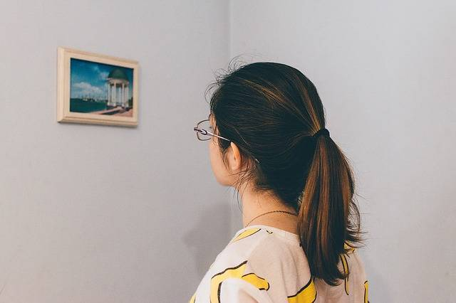 Woman Thinking Picture Frame - Free photo on Pixabay (631749)