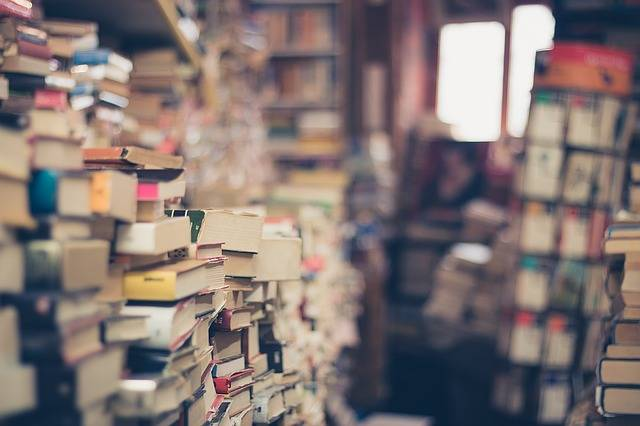 Books Stack Book Store Of - Free photo on Pixabay (636684)