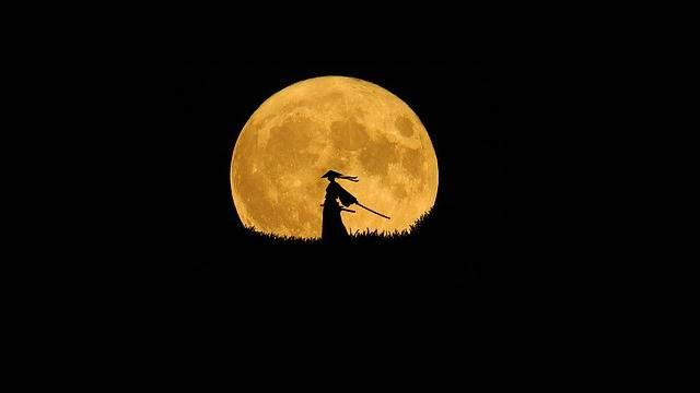 Samurai Silhouette Art Lone - Free photo on Pixabay (644528)