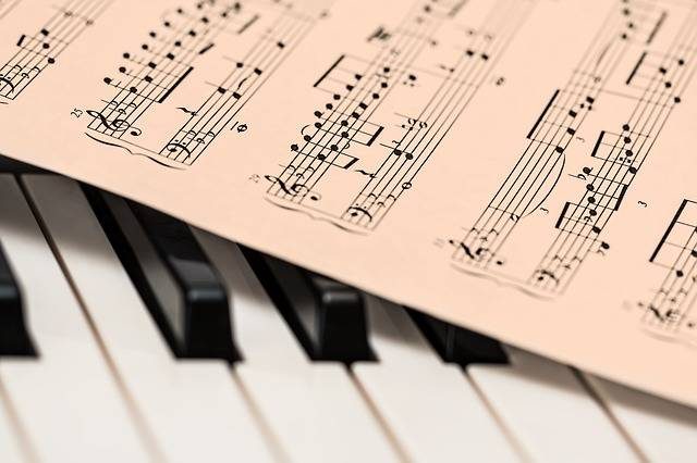 Piano Music Score Sheet - Free photo on Pixabay (661973)
