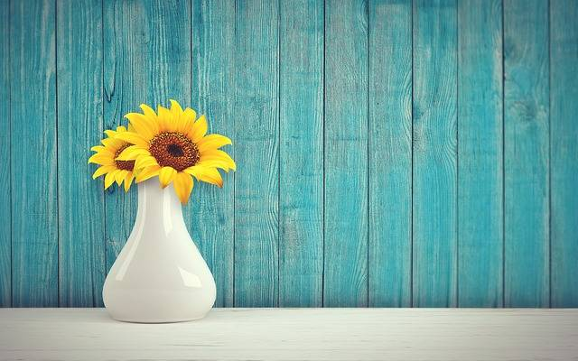 Sunflower Vase Vintage - Free photo on Pixabay (688677)
