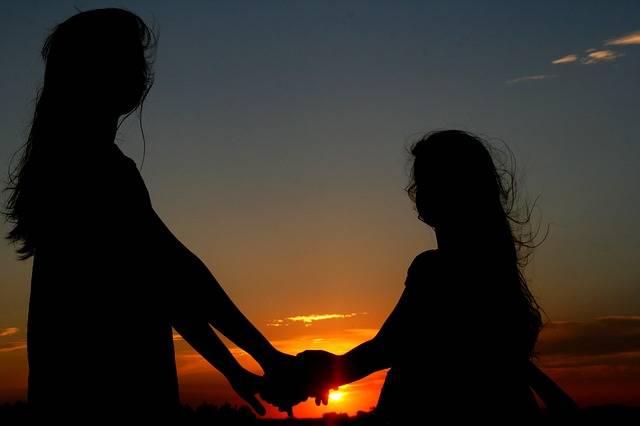Sunset Sun Sisters - Free photo on Pixabay (708381)