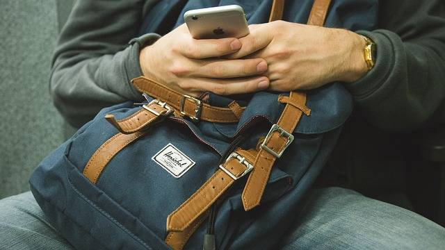Backpack Iphone Smart Phone Cell - Free photo on Pixabay (716602)
