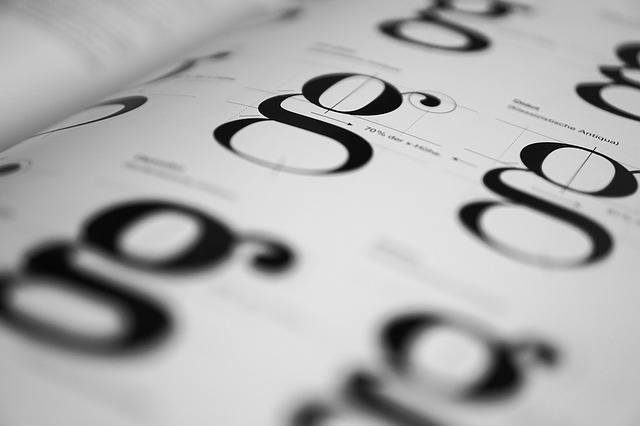 Typography Geschtaltung Fonts - Free photo on Pixabay (721930)
