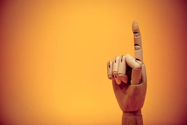 Finger Forefinger Gesture - Free photo on Pixabay (721958)