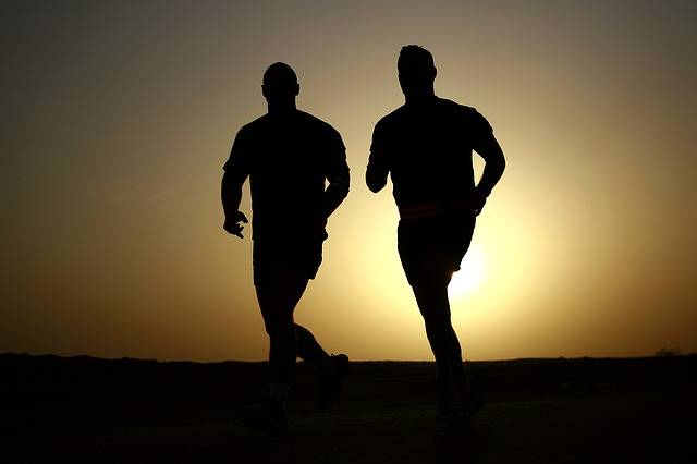 Runners Silhouettes Athletes - Free photo on Pixabay (723010)