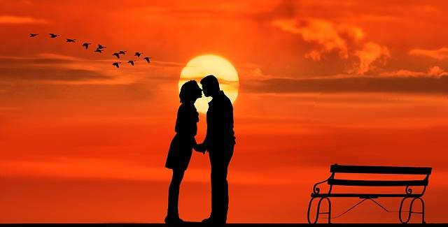 Sunset Pair Lovers - Free image on Pixabay (726310)
