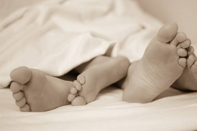 Feet Bed Sleep In - Free photo on Pixabay (727721)