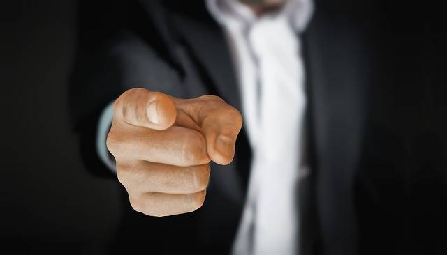 Man Pointing Business - Free photo on Pixabay (735177)