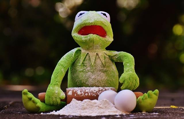 Kermit Bake Rolling Pin - Free photo on Pixabay (736299)