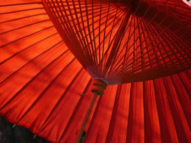 Japan Umbrella Red - Free photo on Pixabay (736744)