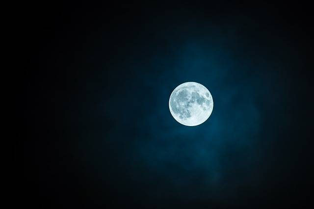 Moon Full Sky - Free photo on Pixabay (736823)