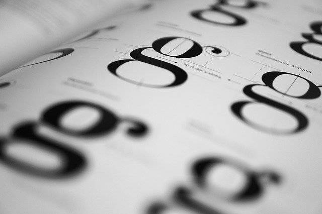 Typography Geschtaltung Fonts - Free photo on Pixabay (744544)